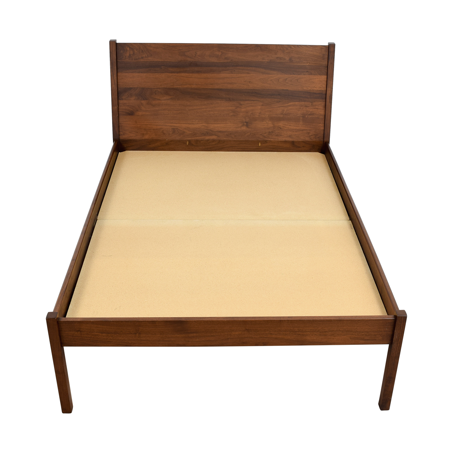 buy Custom Wood Platform Full Bed Frame online