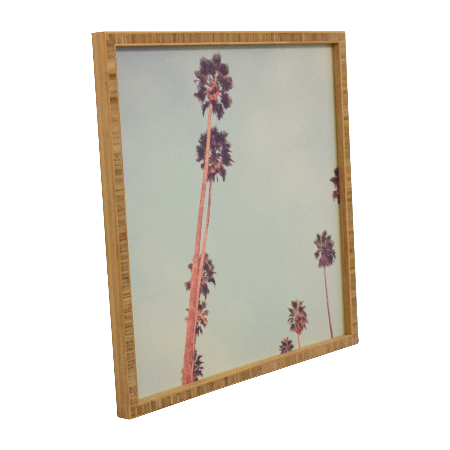 shop Oliver Gal Framed Palm Tree Print Oliver Gal