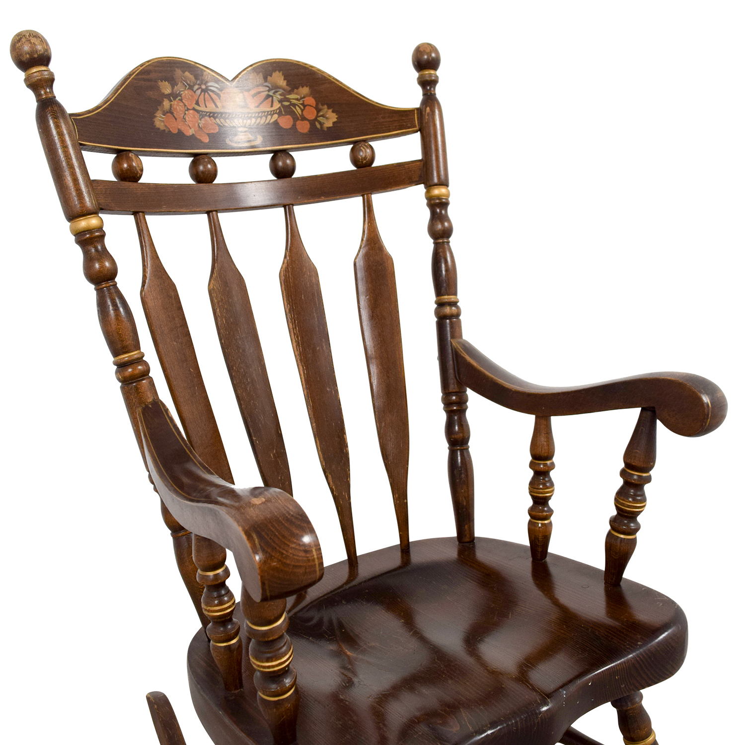 ... Wood Rocking Chair ...