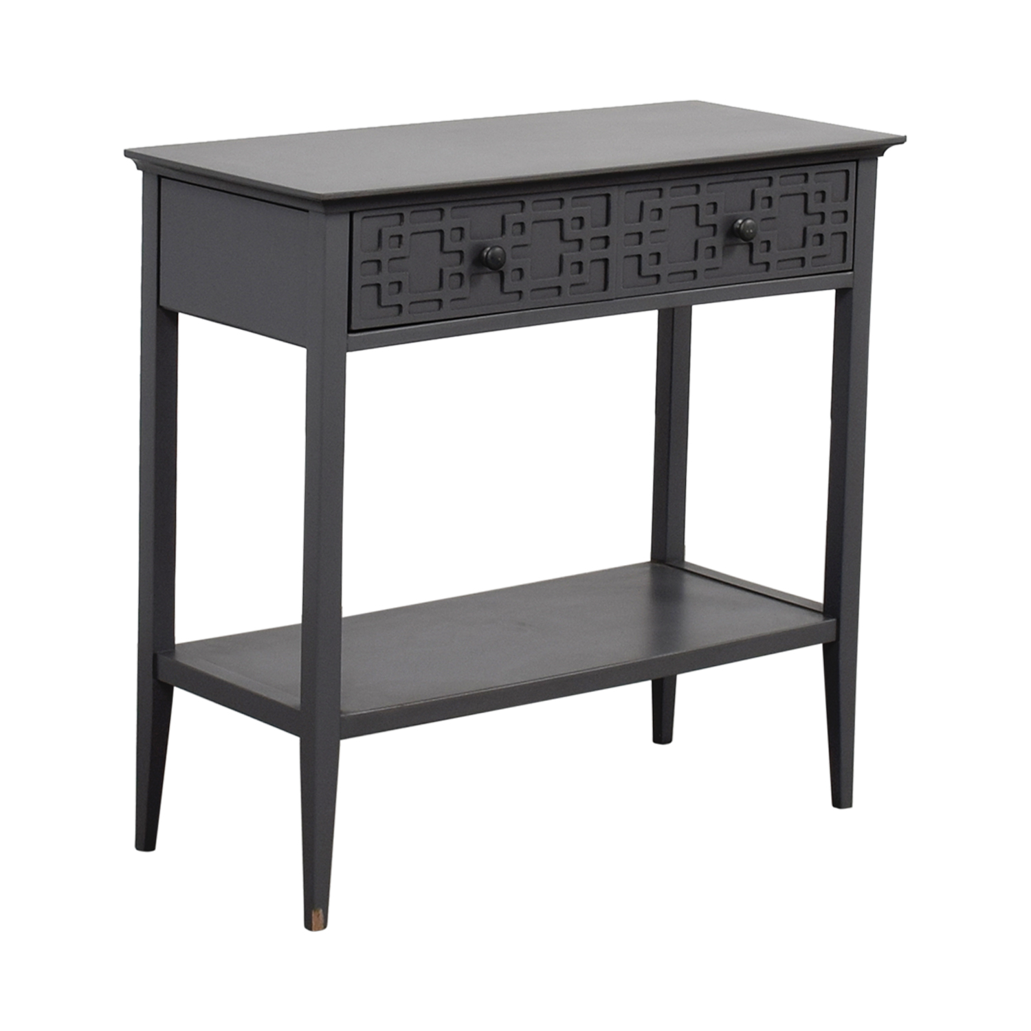 buy Grey Console with Drawer Accent Tables