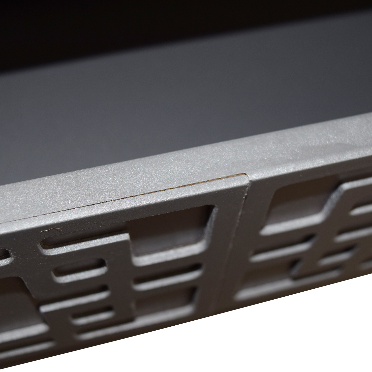 Grey Console with Drawer