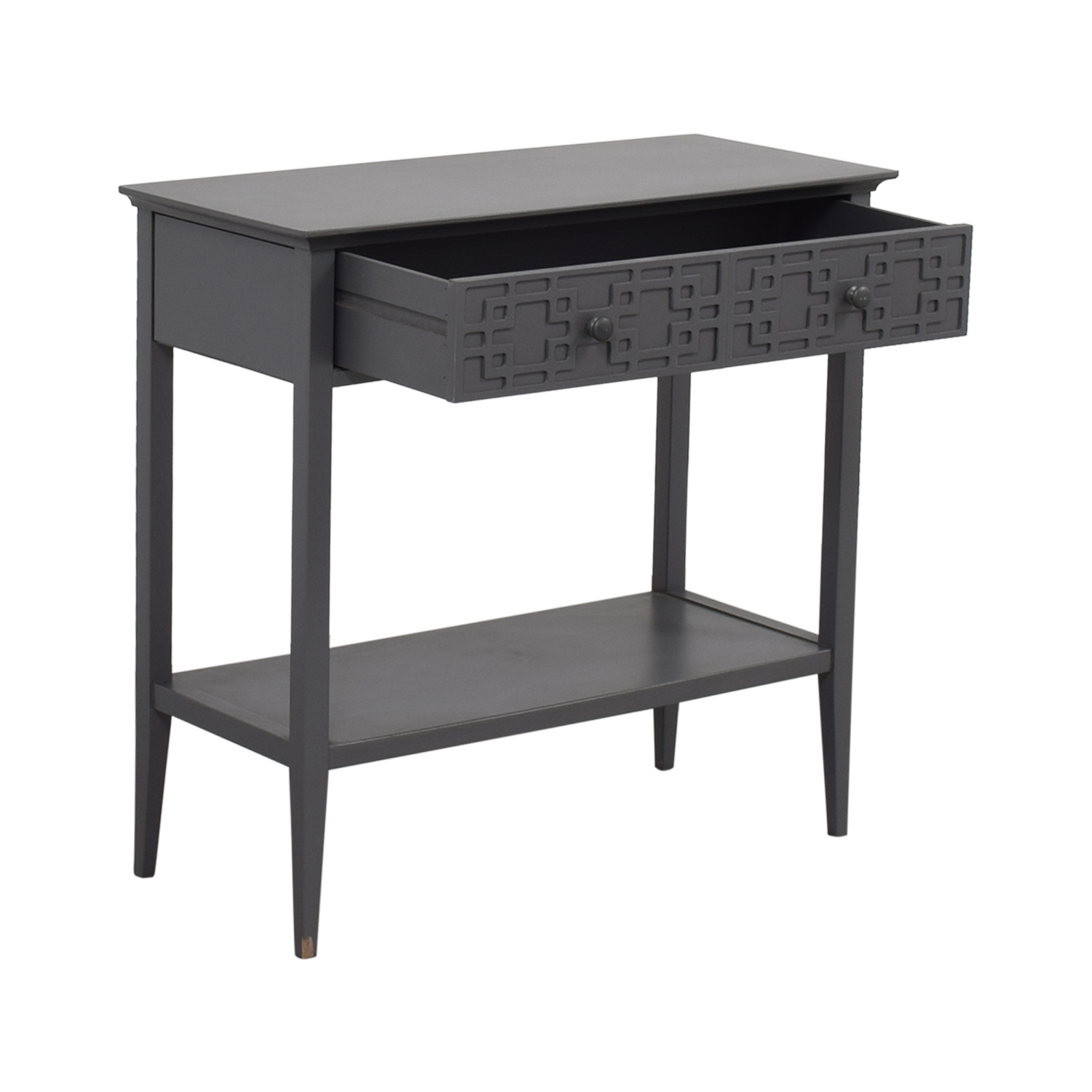 Grey Console with Drawer coupon