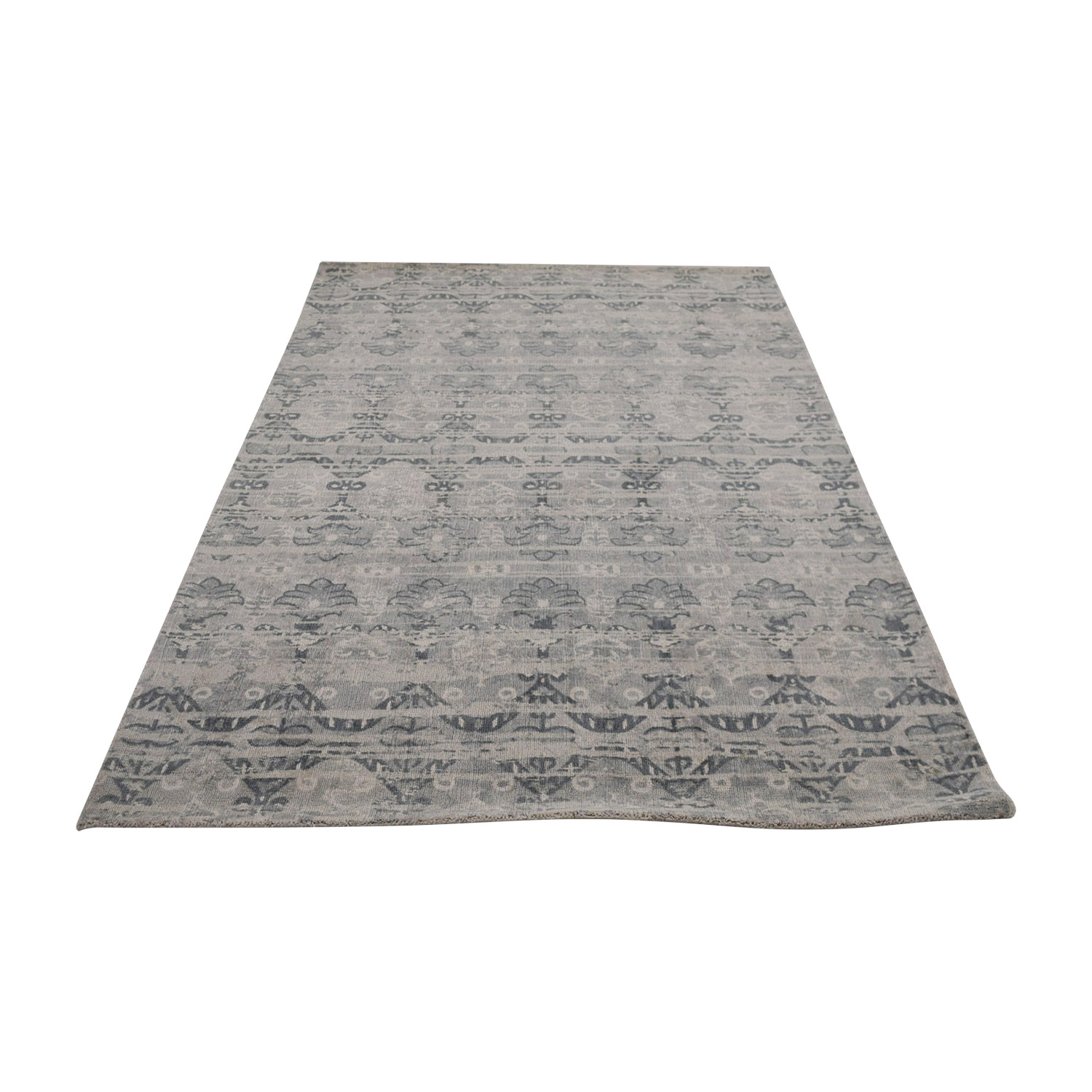 Obeetee Obeetee Gray Pattern Rug coupon