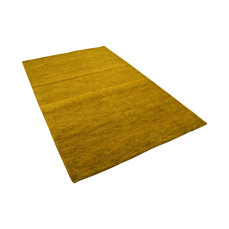 Obeetee Obeetee Yellow Rug Yellow