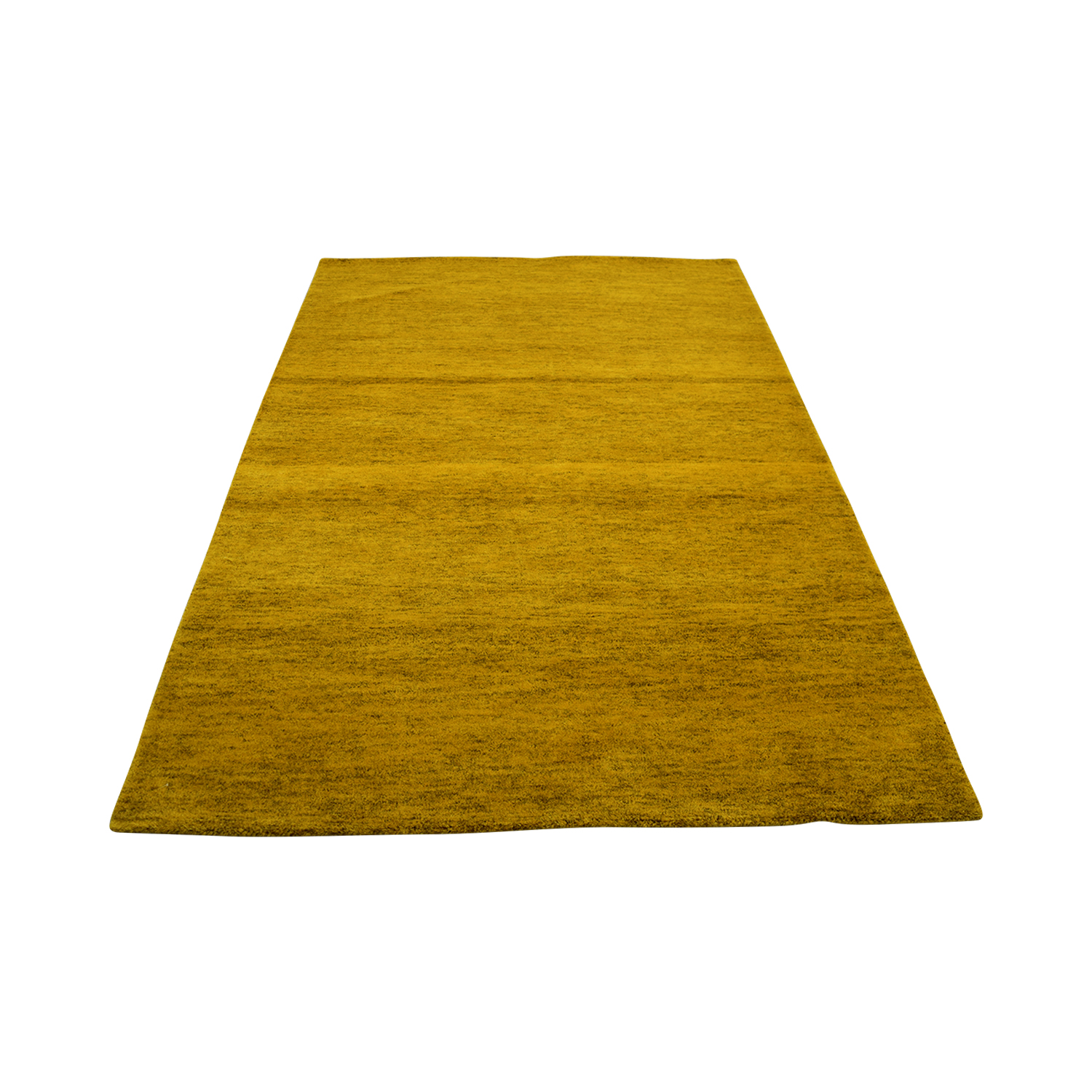 shop Obeetee Yellow Rug Obeetee Decor
