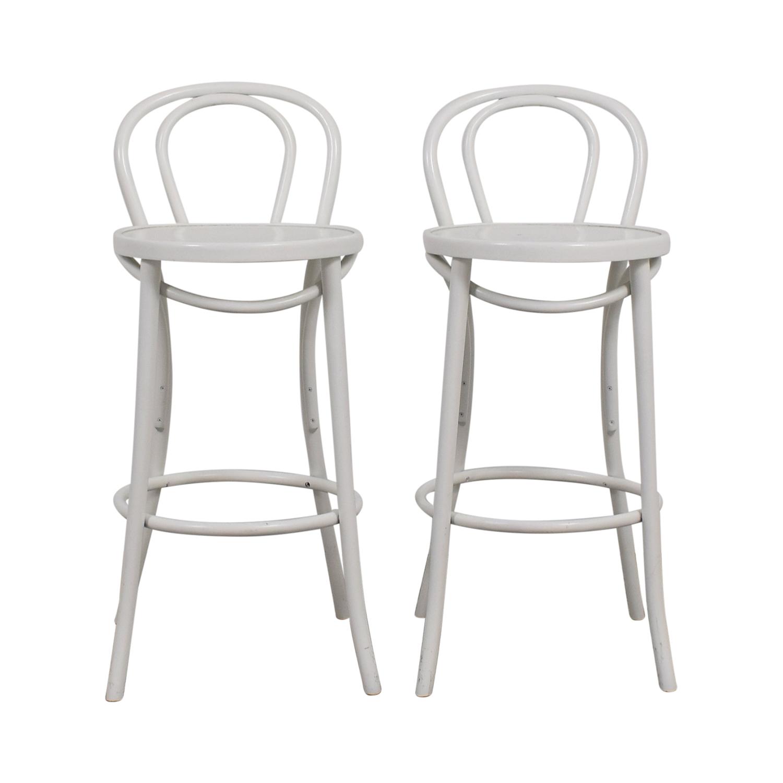 buy Fameg White Brasserie Stools Fameg Chairs