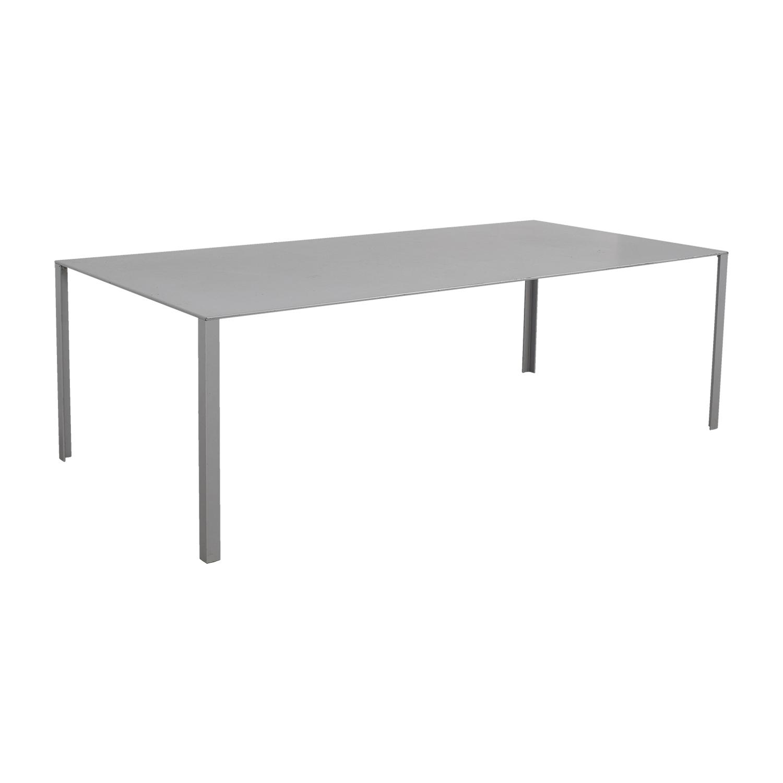 Jean Nouvel Jean Nouvel Grey Less Less Table coupon