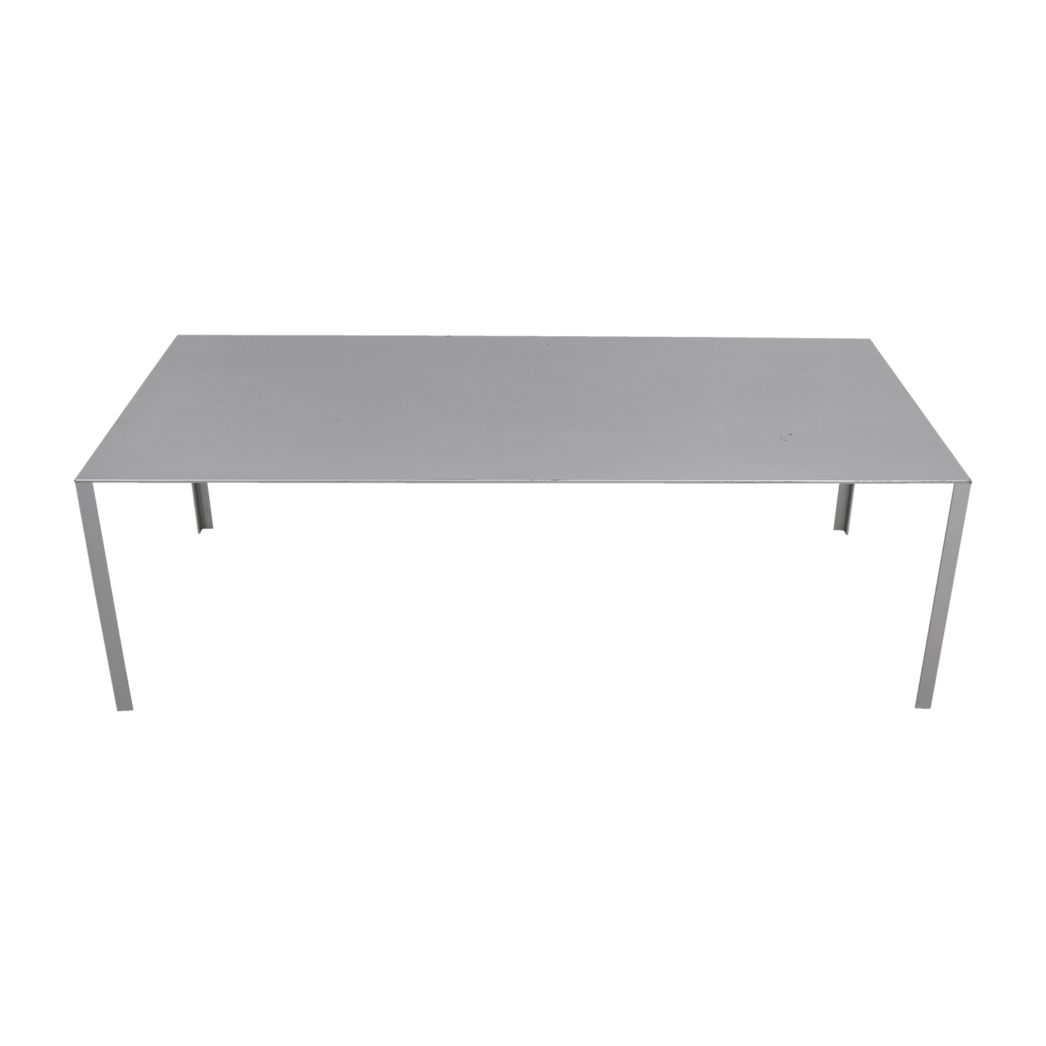 Jean Nouvel Grey Less Less Table Jean Nouvel