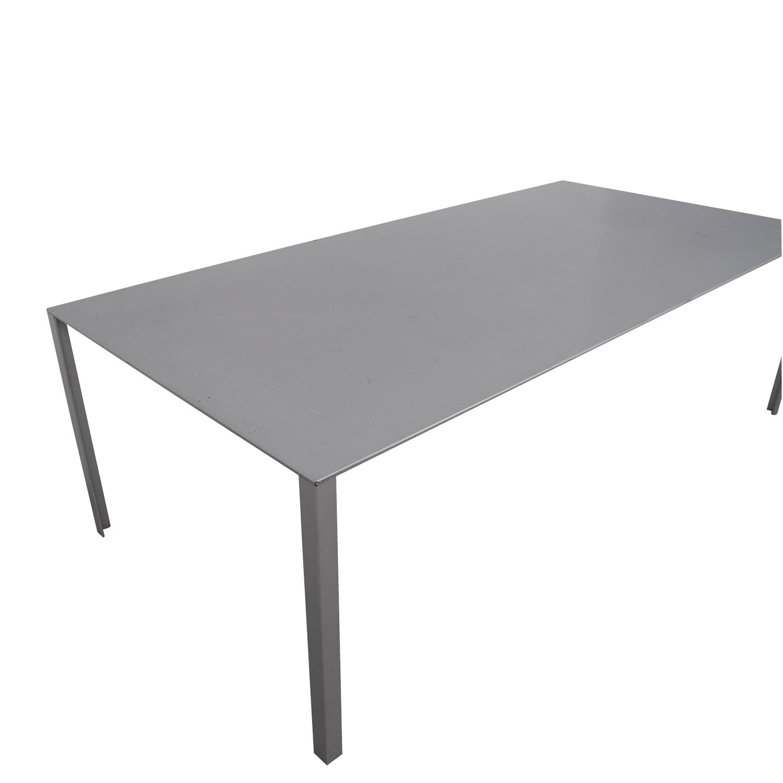 Jean Nouvel Jean Nouvel Grey Less Less Table on sale