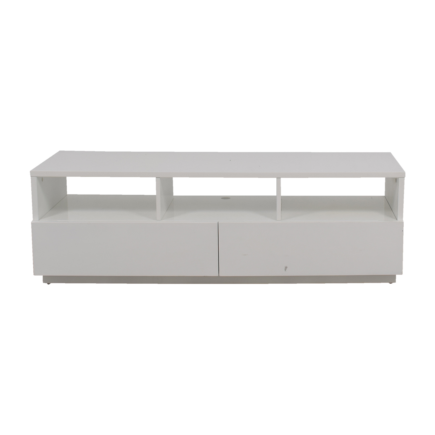 Modern White TV Stand price