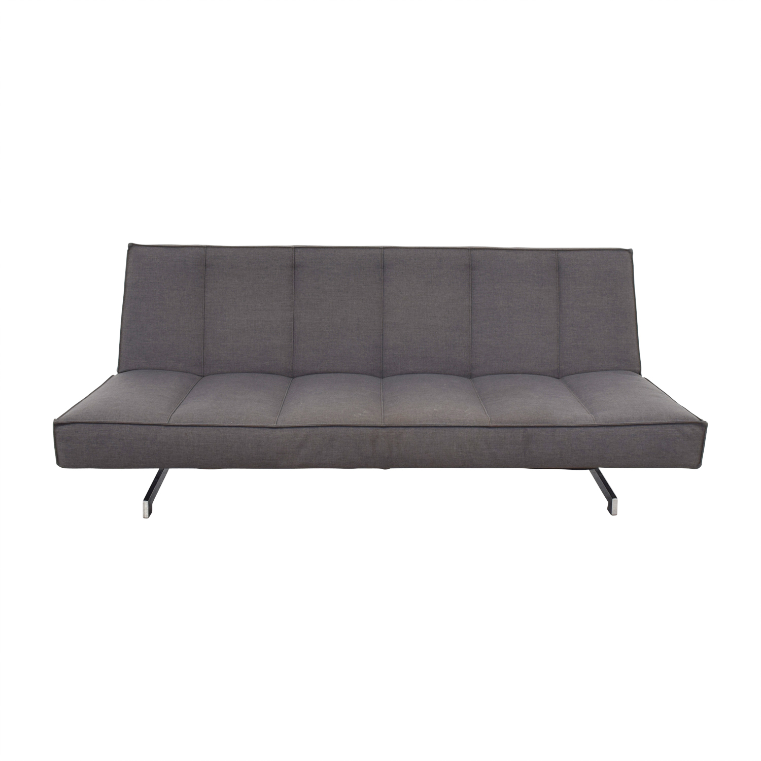 Dark Grey Convertible Couch sale
