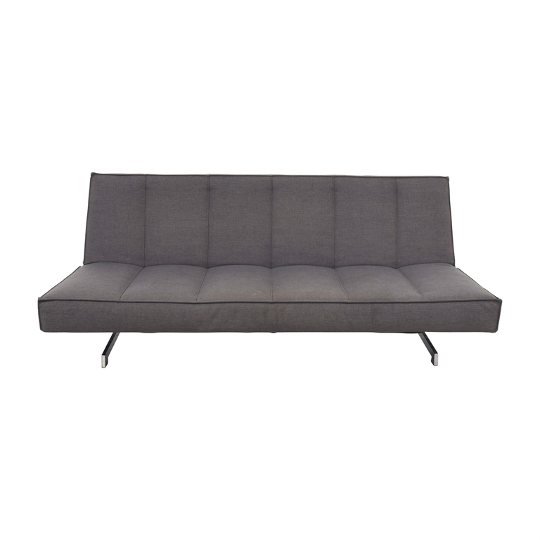 shop Dark Grey Convertible Couch