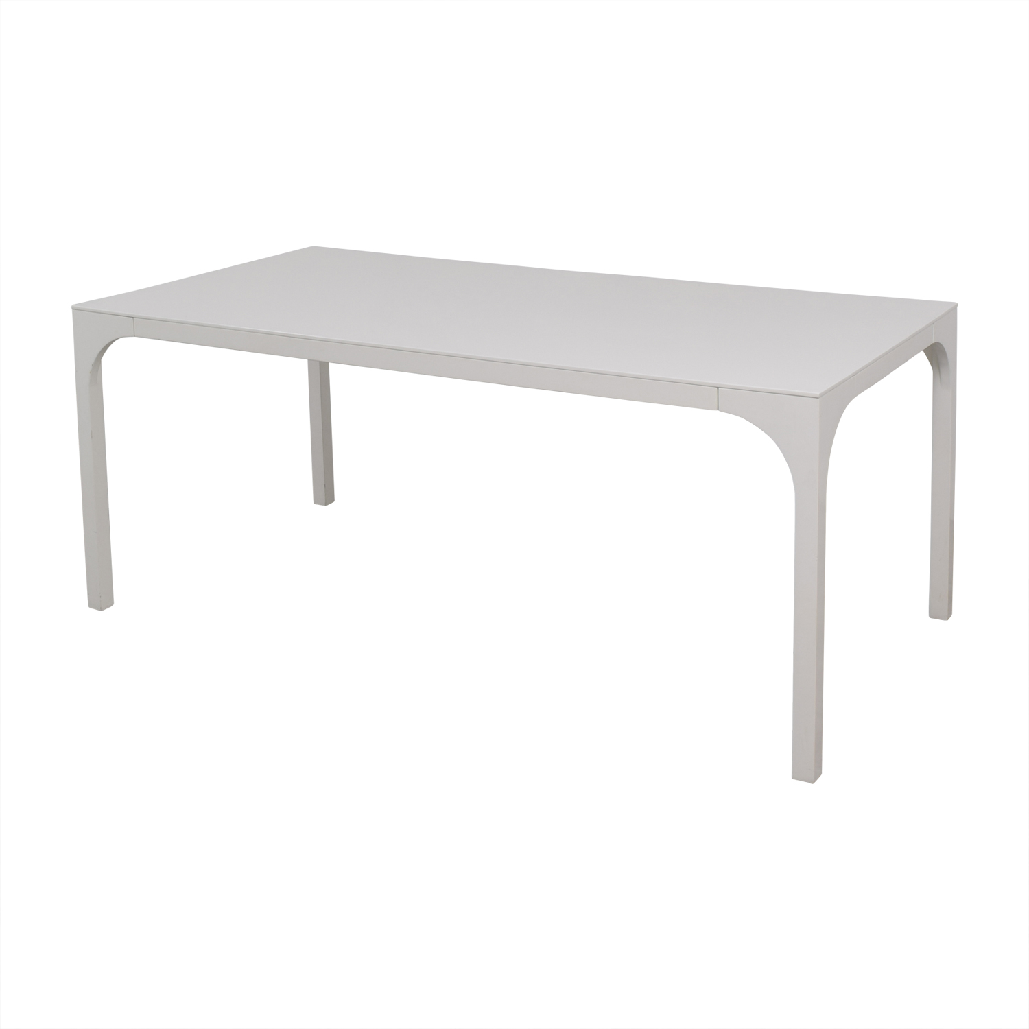 White Rectangular Table discount