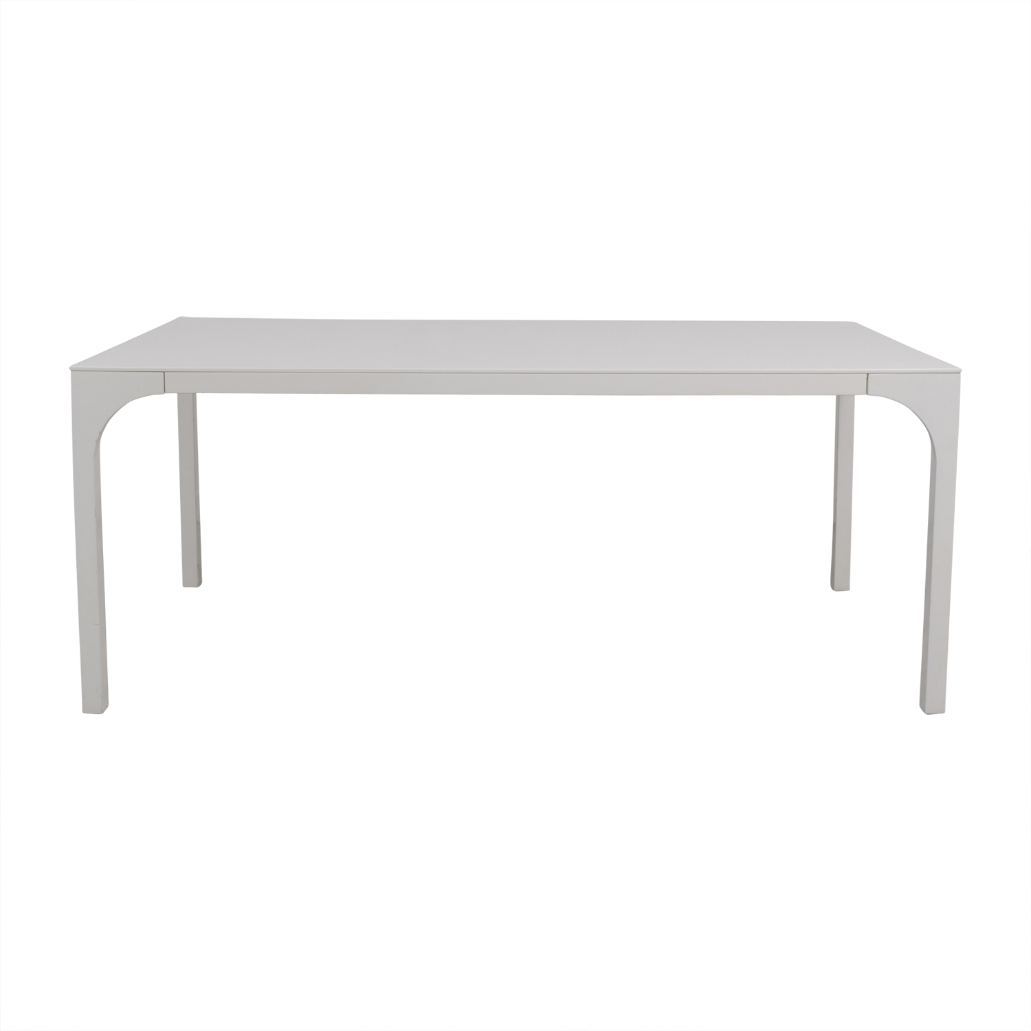 White Rectangular Table nyc