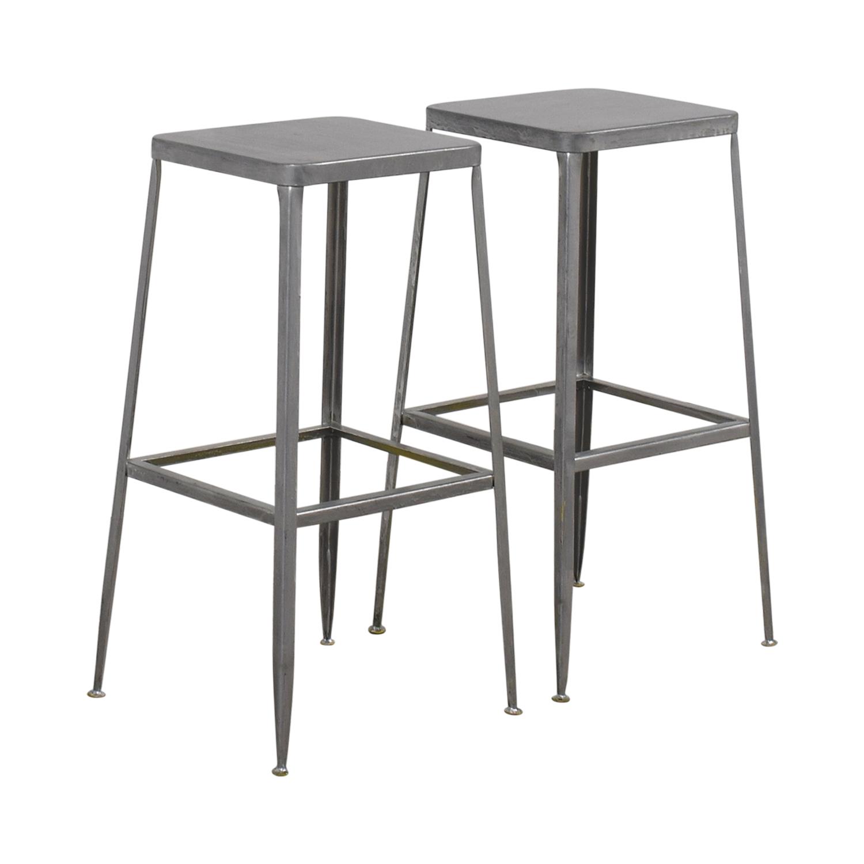 Modern Metal Barstools dimensions