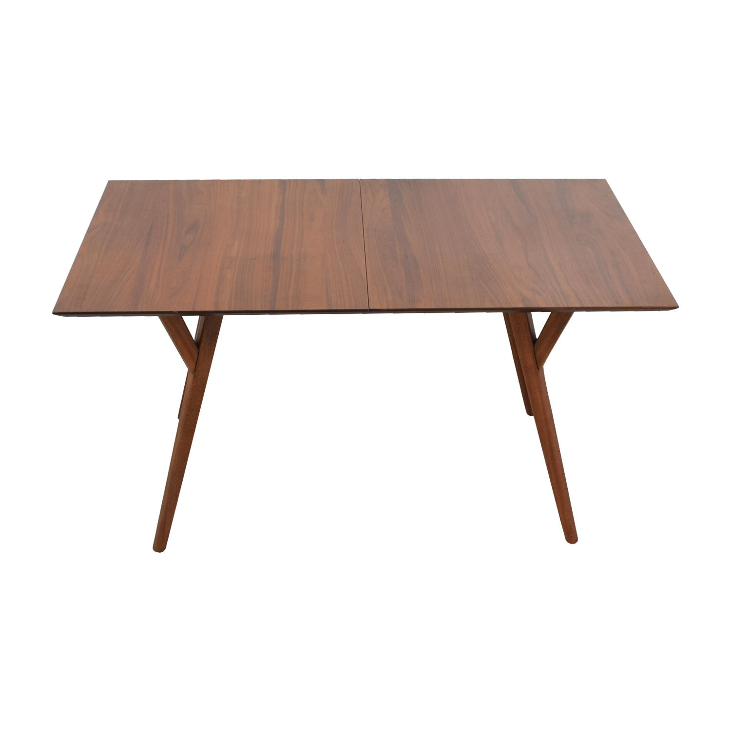 West Elm Mid-Century Walnut Expandable Dining Table / Dinner Tables