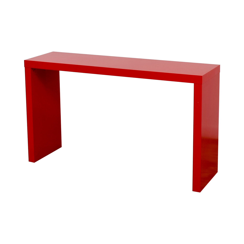 Furniture Masters Furniture Masters Red Credenza discount