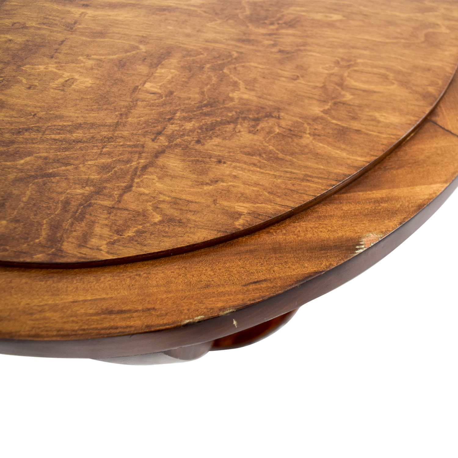 Furniture Masters Furniture Masters Round Wood End Table for sale