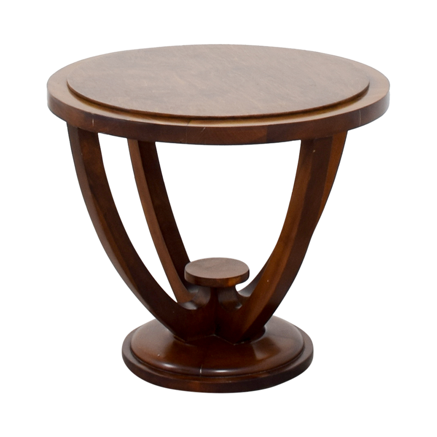 shop Furniture Masters Round Wood End Table Furniture Masters End Tables