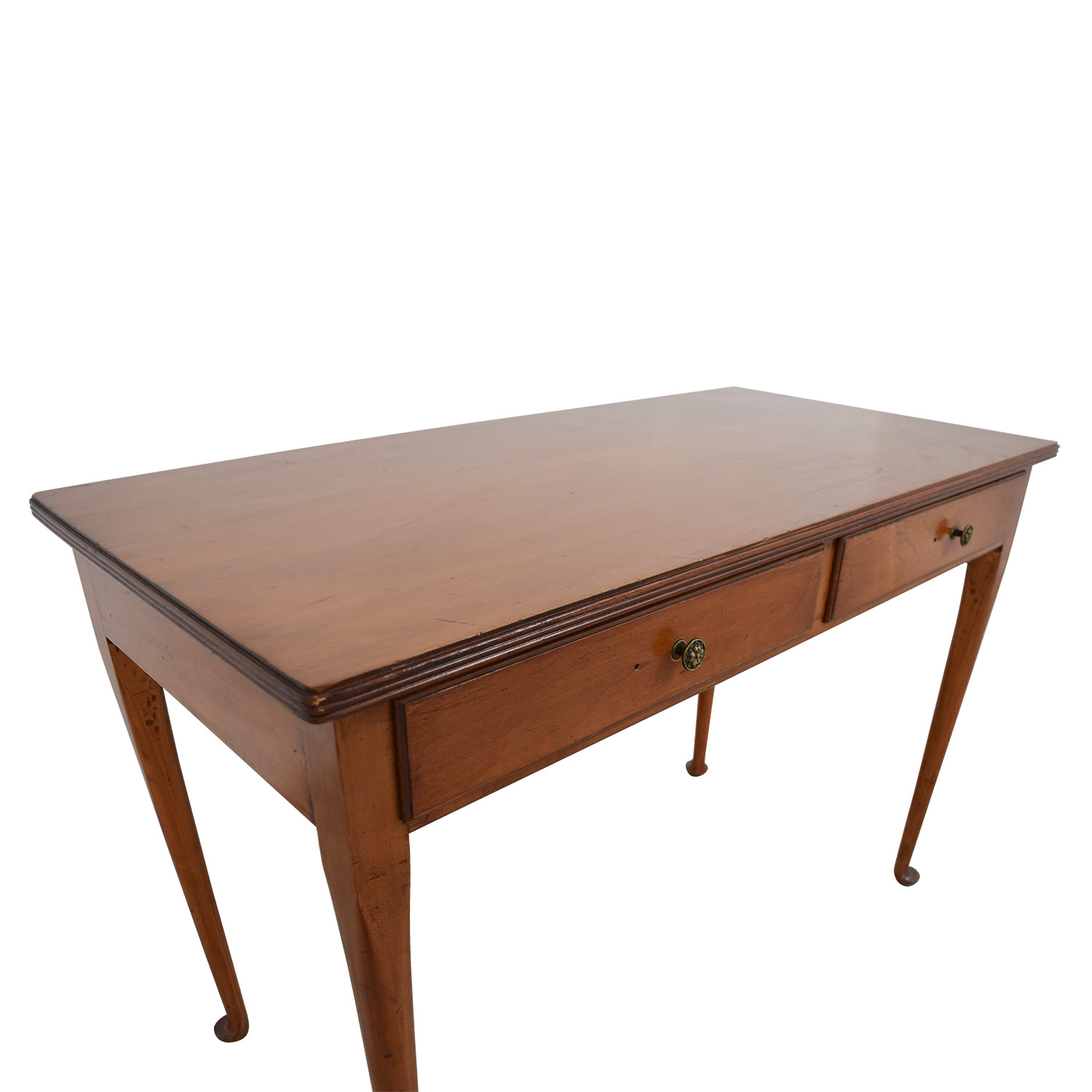 Furniture Masters Furniture Masters Wooden Two-Drawer Desk nyc