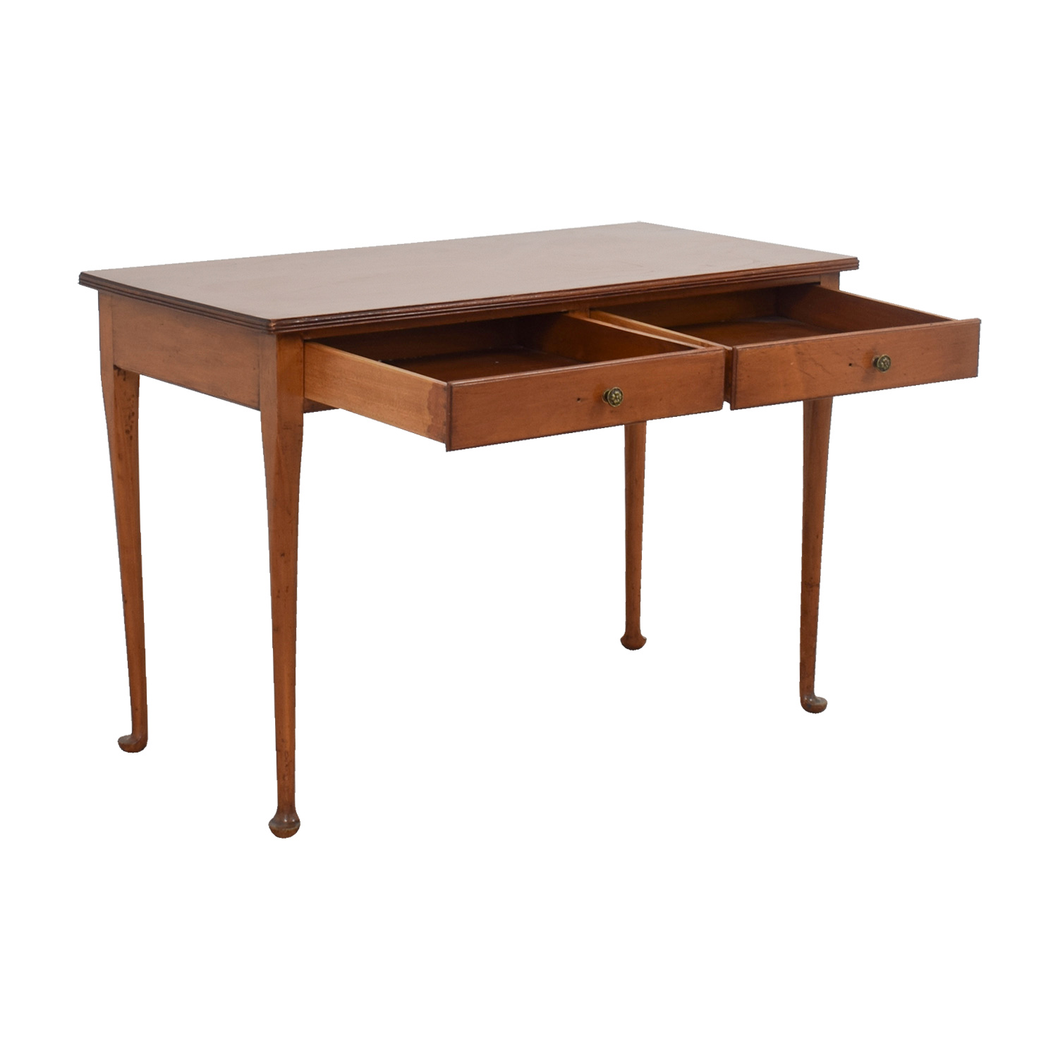 buy Furniture Masters Wooden Two-Drawer Desk Furniture Masters Tables