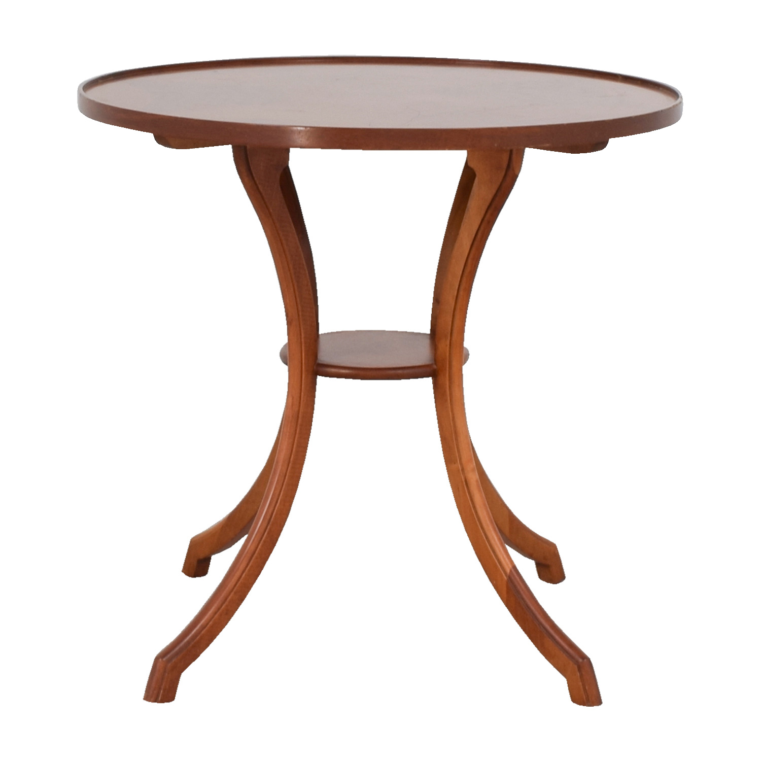 Furniture Masters Furniture Masters Round Wood Accent Table dimensions