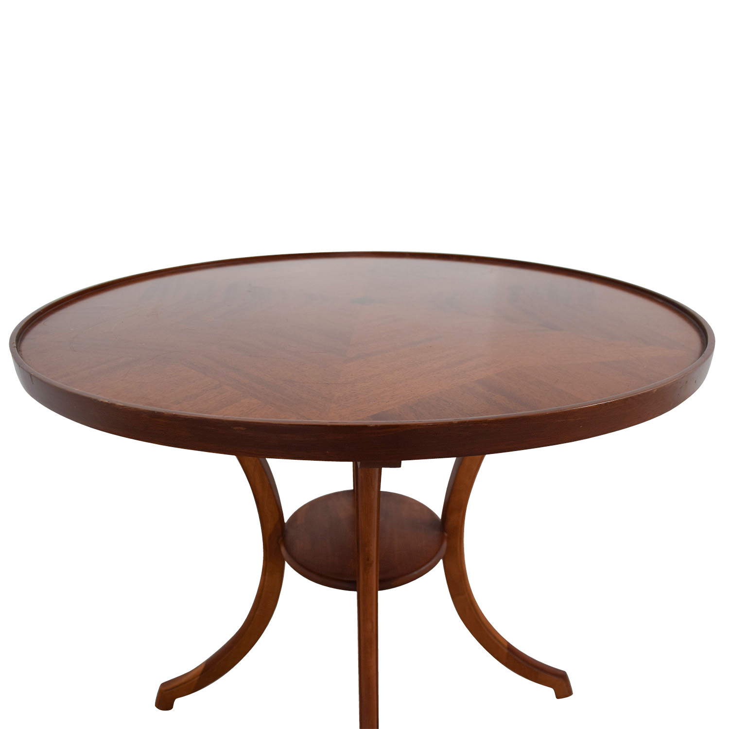 Furniture Masters Furniture Masters Round Wood Accent Table price