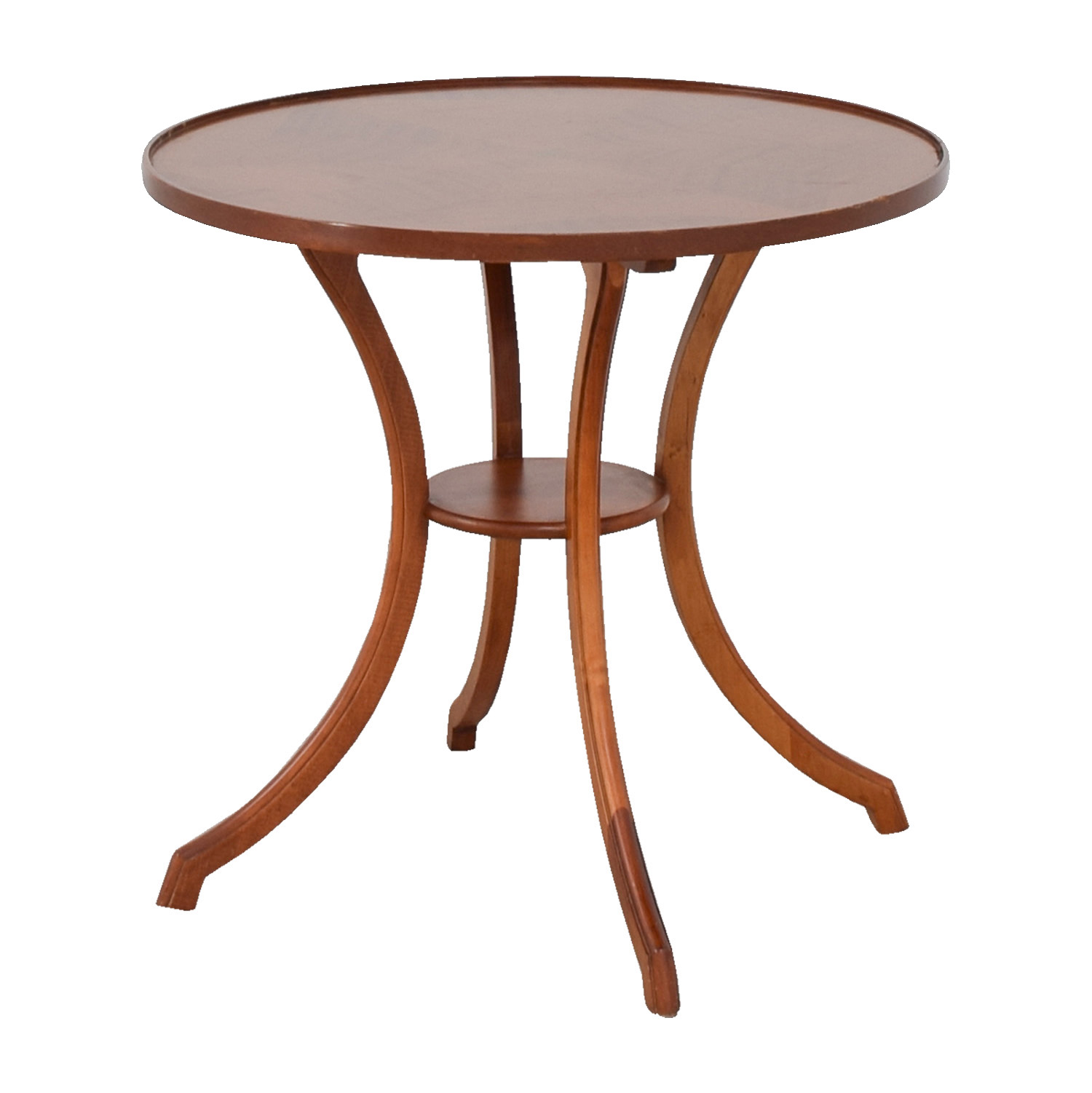 ... Furniture Masters Furniture Masters Round Wood Accent Table For Sale ...
