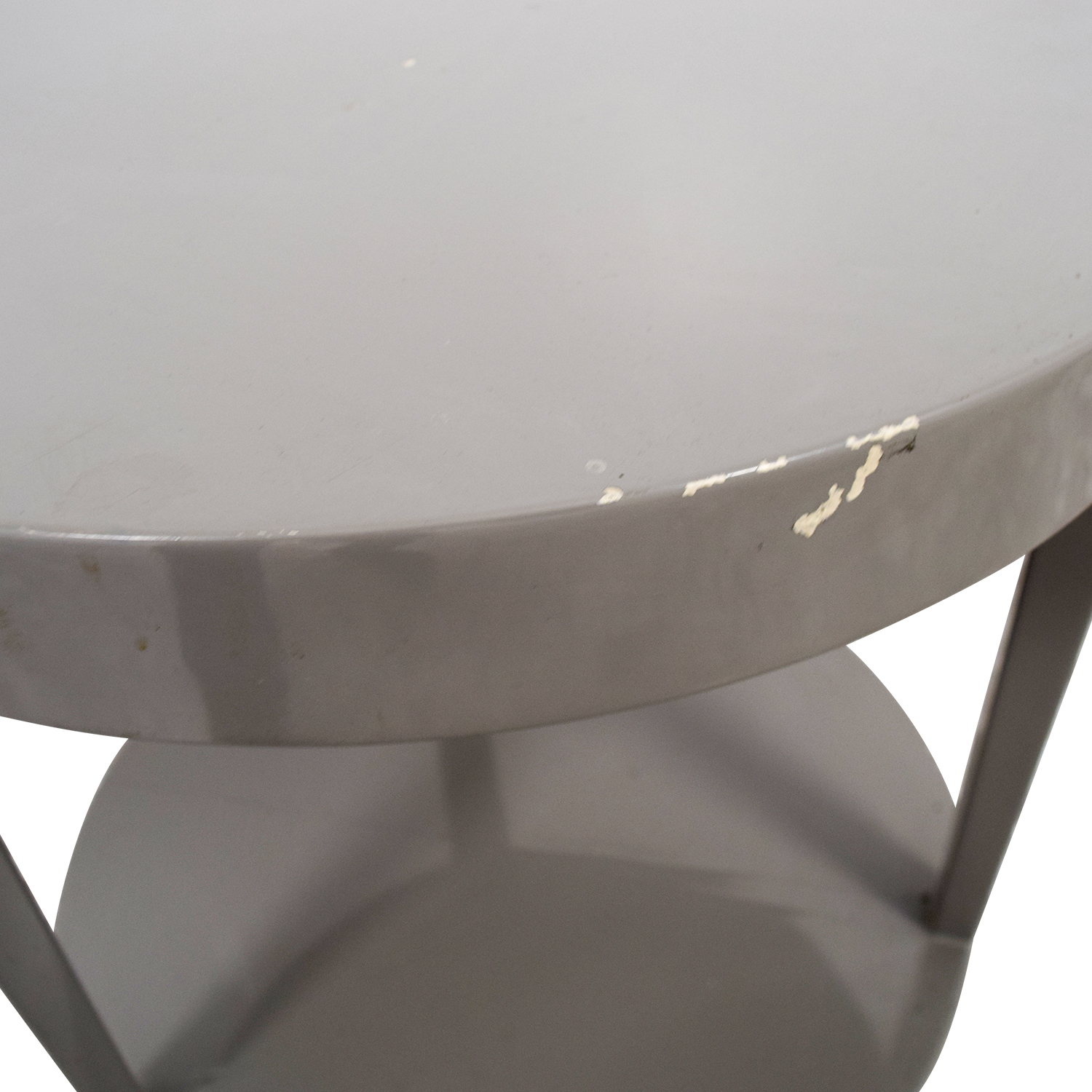 Furniture Masters Furniture Masters Round Grey End Table dimensions