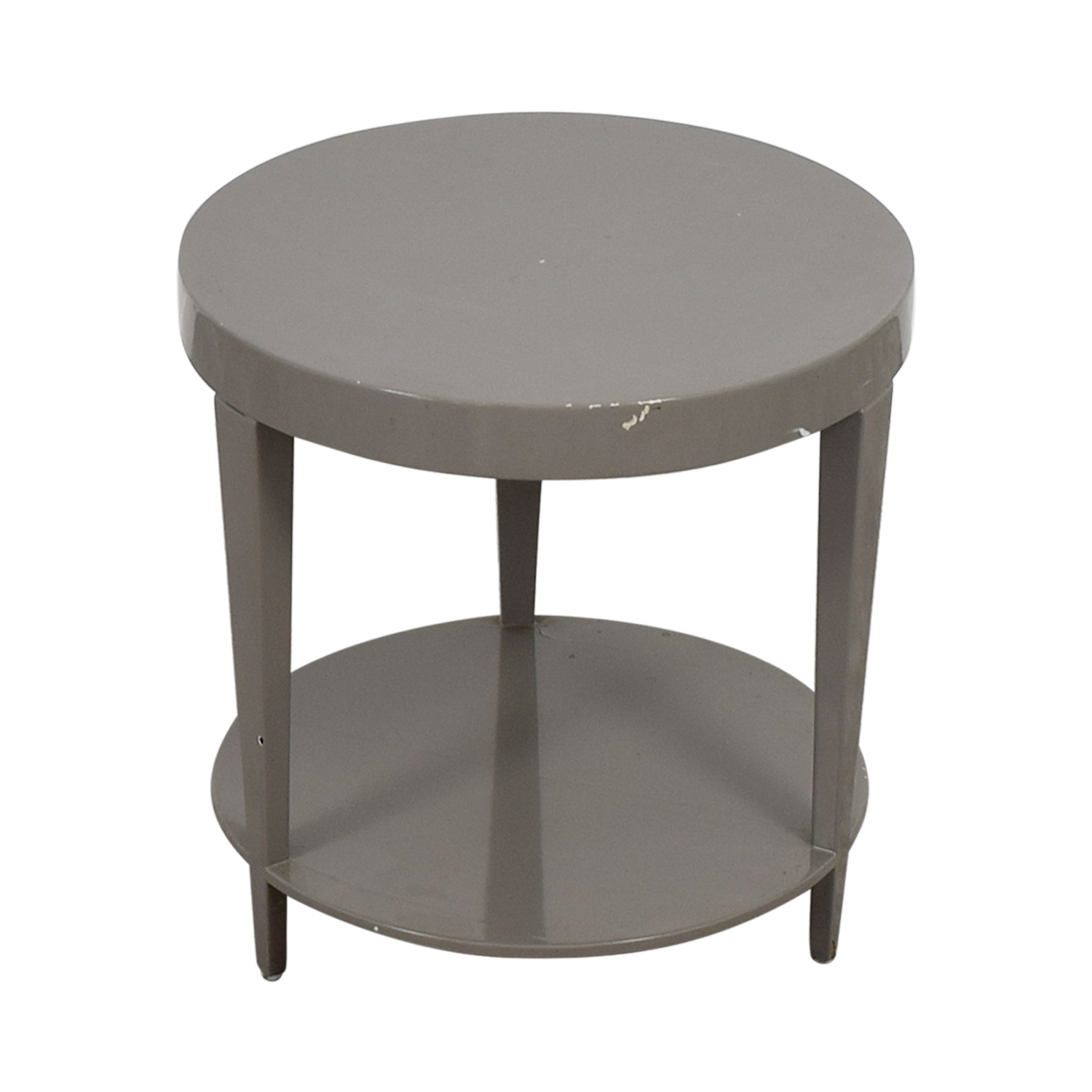 buy Furniture Masters Furniture Masters Round Grey End Table online