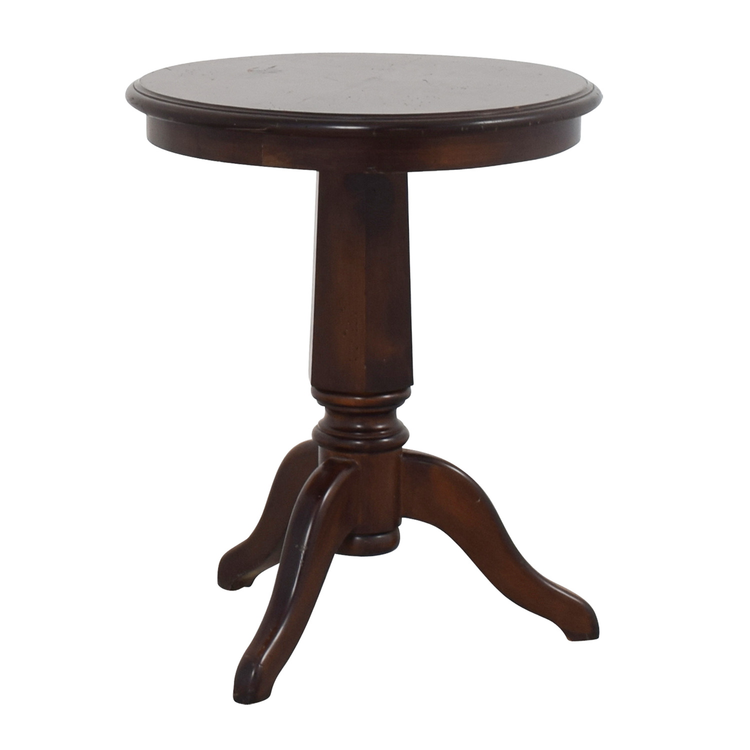 90 off furniture masters round wooden end table tables for Buy round table