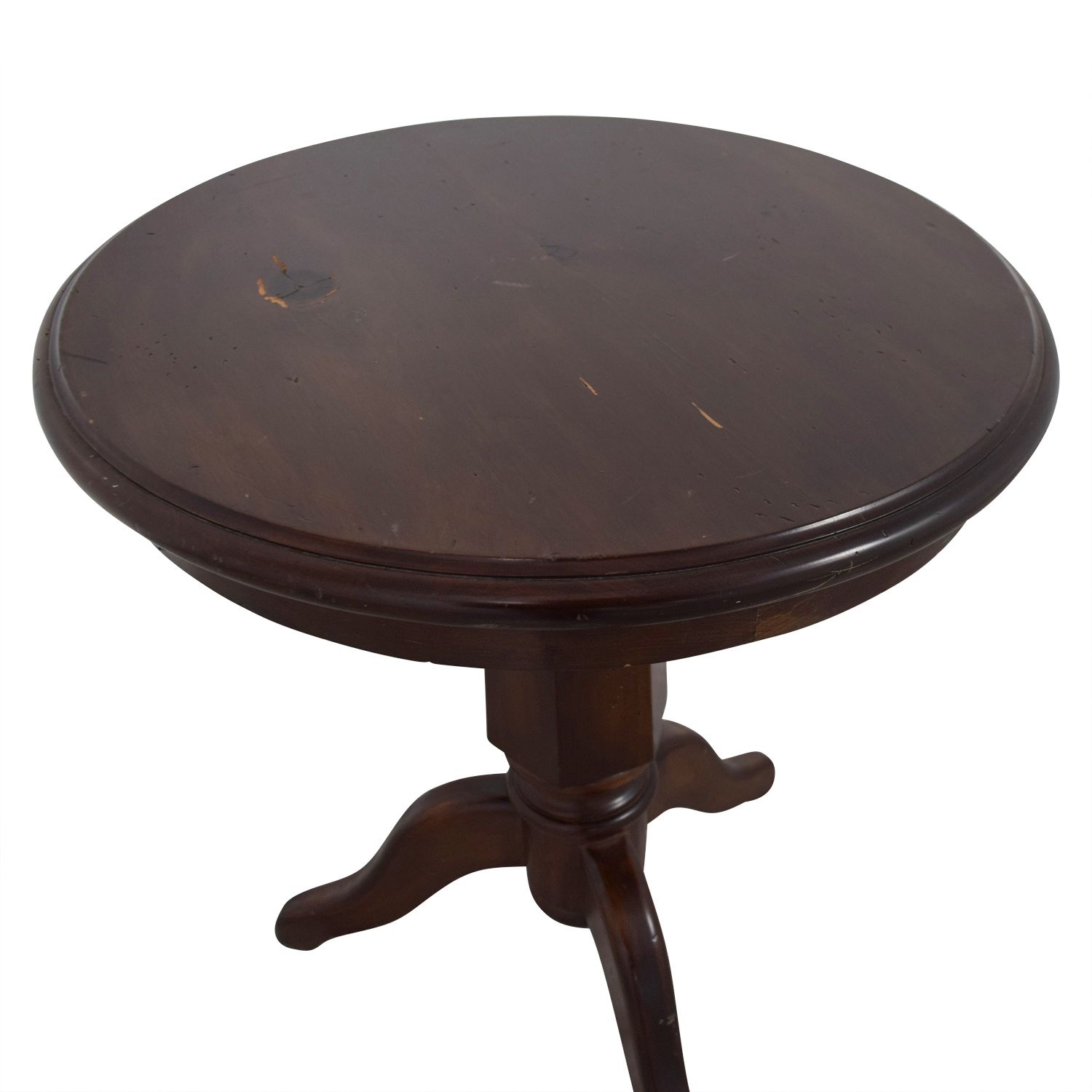 Furniture Masters Round Wooden End Table nyc
