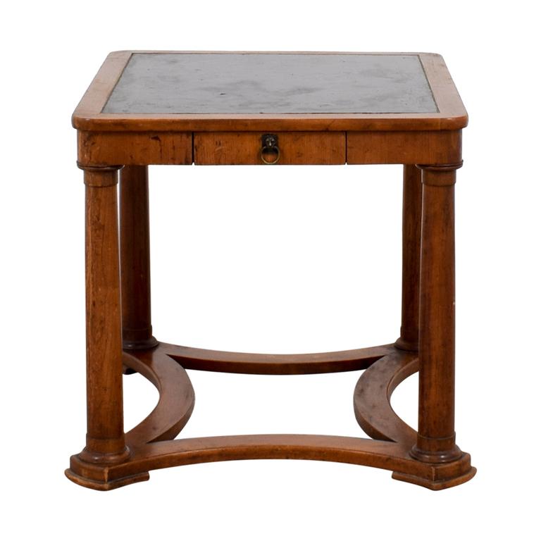 Furniture Masters Furniture Masters Baker Black Top End Table on sale