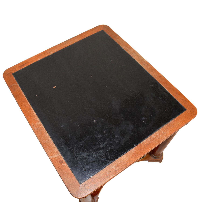 Furniture Masters Baker Black Top End Table Furniture Masters