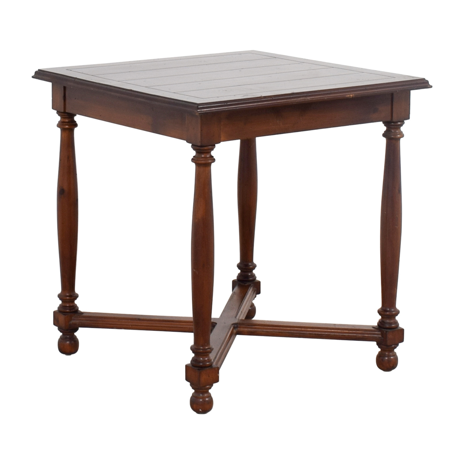 shop Furniture Masters Crossed Base End Table Furniture Masters End Tables