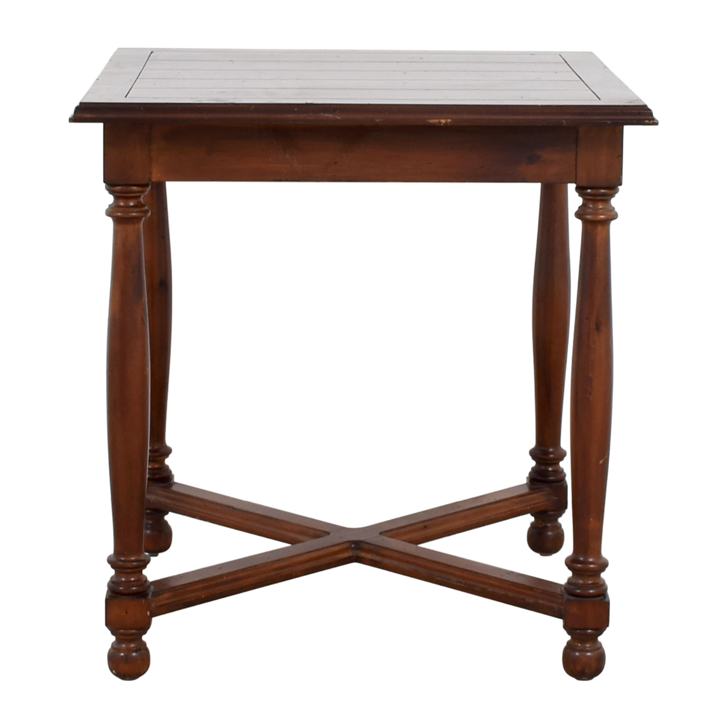 Furniture Masters Furniture Masters Crossed Base End Table dimensions