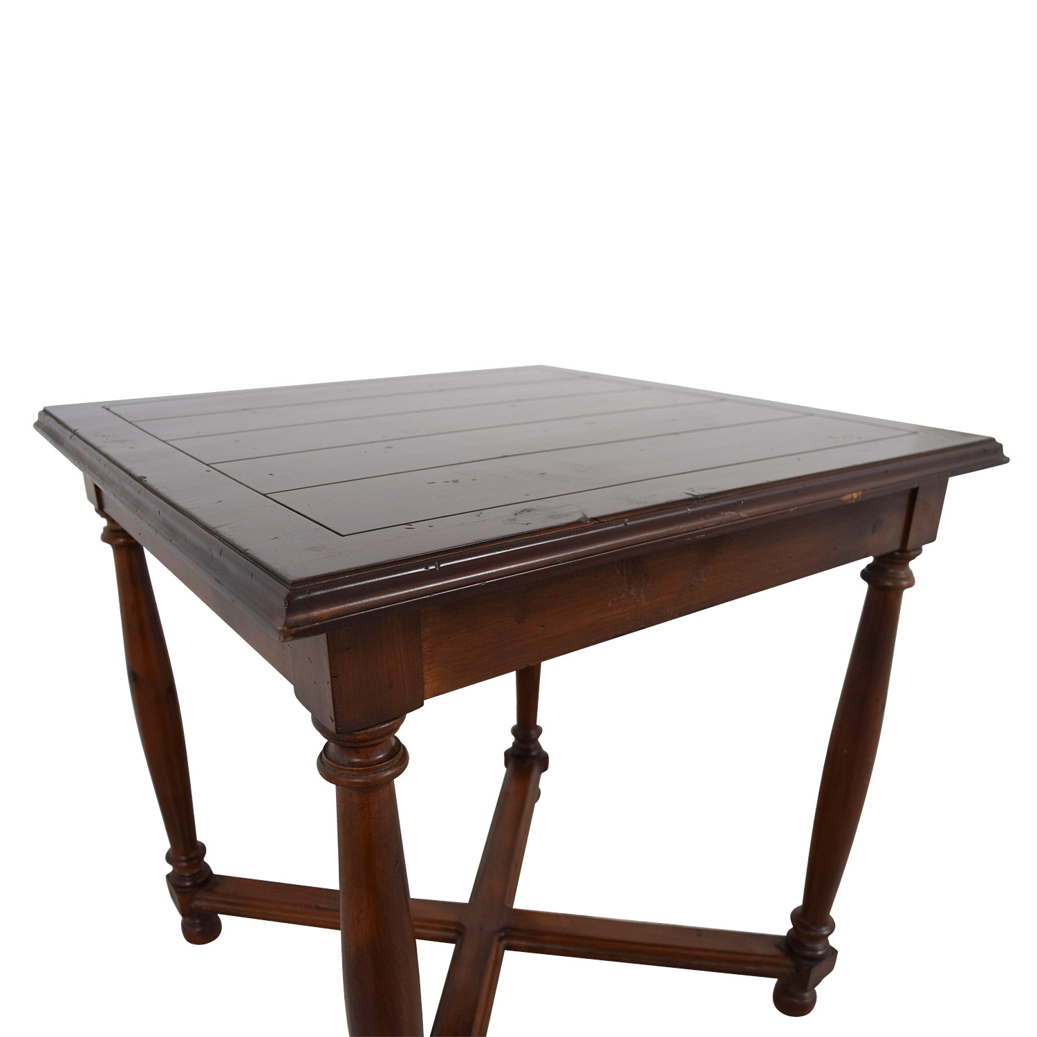 Furniture Masters Crossed Base End Table / End Tables