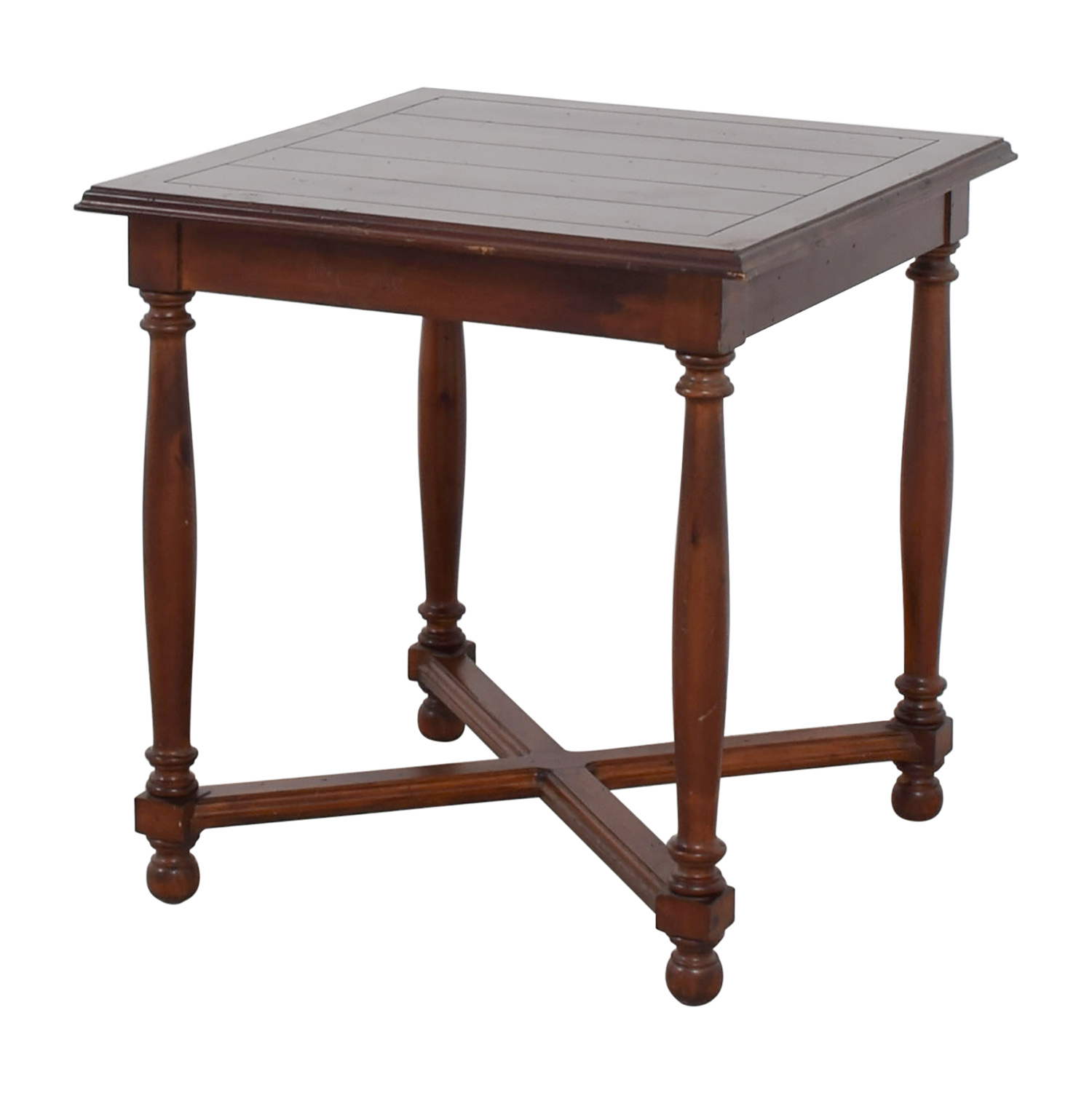 Furniture Masters Furniture Masters Crossed Base End Table nyc