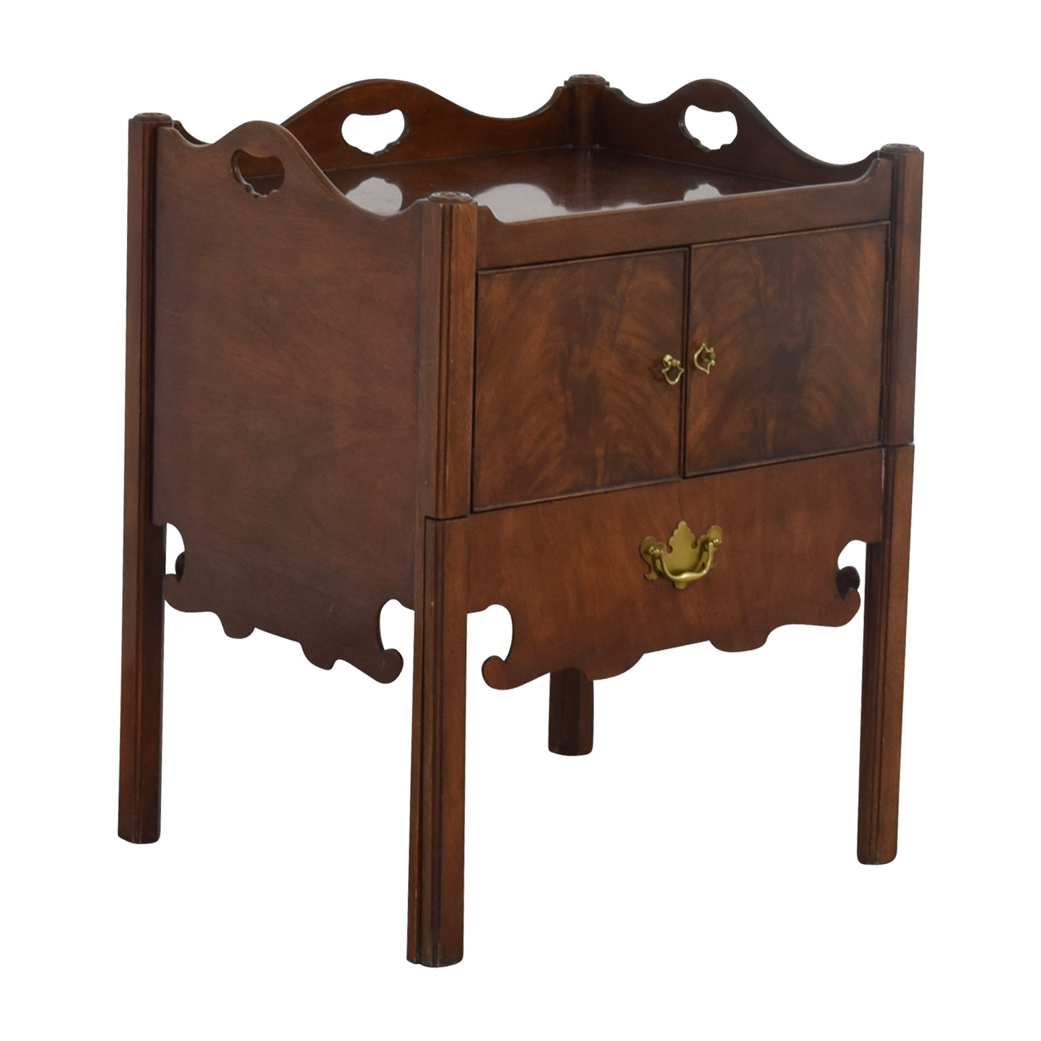 Furniture Masters Furniture Masters Antique Nesting Style End Table End Tables