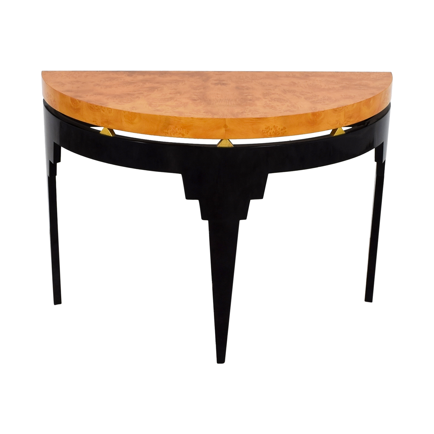Furniture Masters Furniture Masters Art Deco Two Tone Accent Table nyc