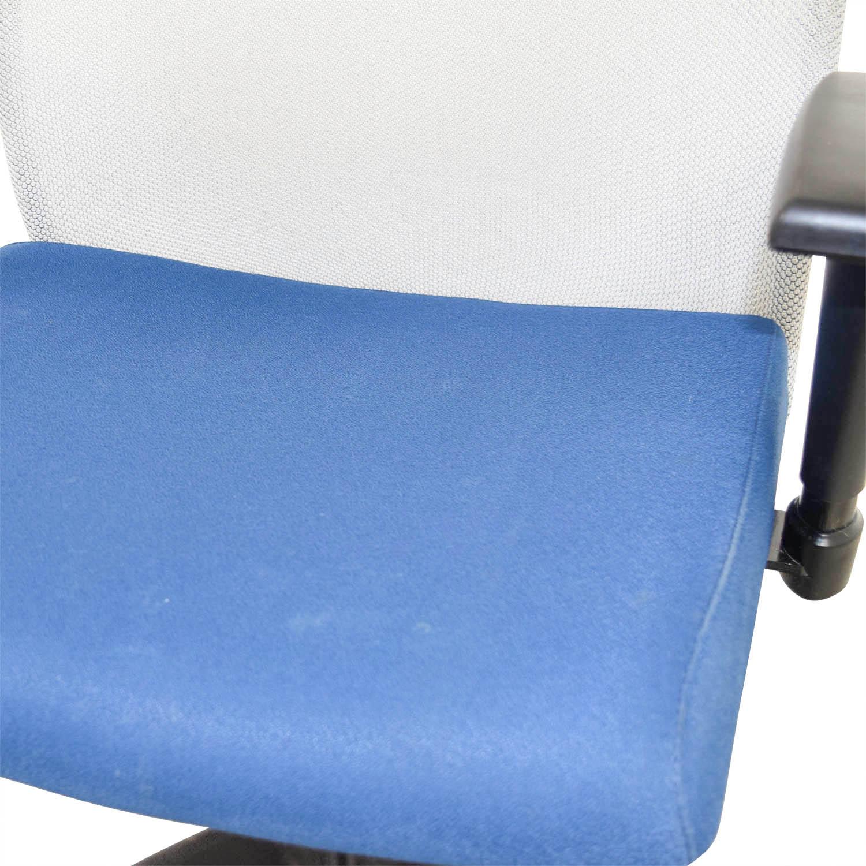 Stylex Stylex Blue Adjustable Arms Task Chair nj