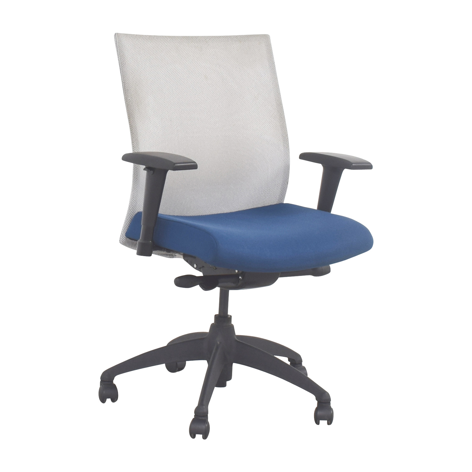 ... Buy Stylex Blue Adjustable Arms Task Chair Stylex ...