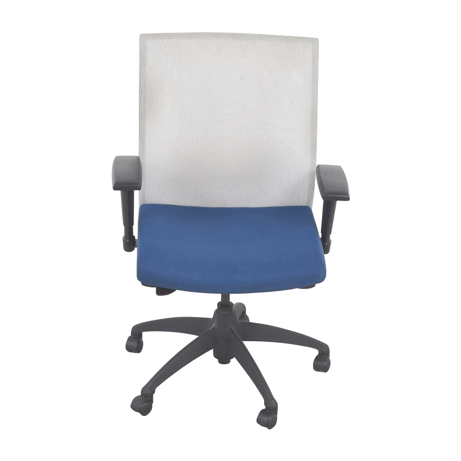 buy Stylex Blue Adjustable Arms Task Chair Stylex Home Office Chairs