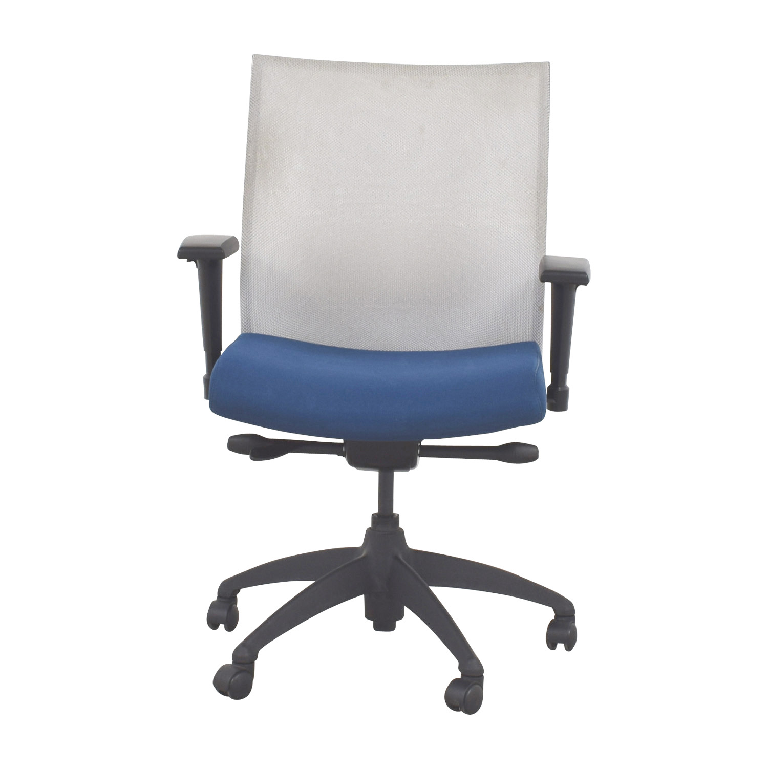 Stylex Blue Adjustable Arms Task Chair / Sofas