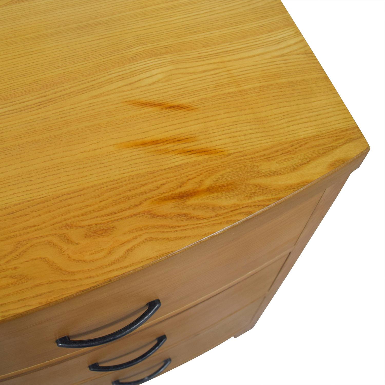 shop Ethan Allen Three-Drawer Wood Dresser Ethan Allen