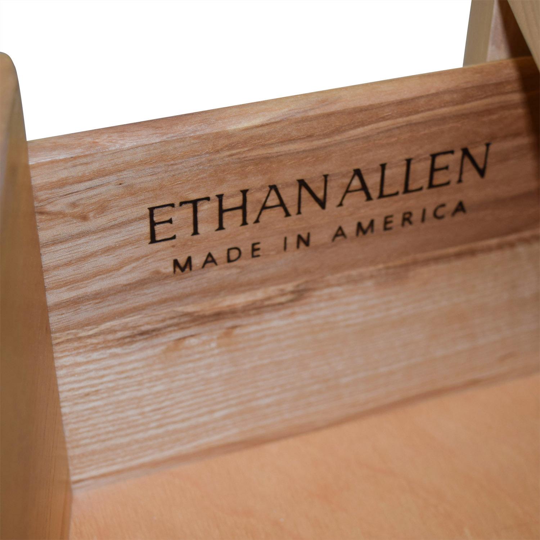 Ethan Allen Ethan Allen Three-Drawer Wood Dresser Dressers