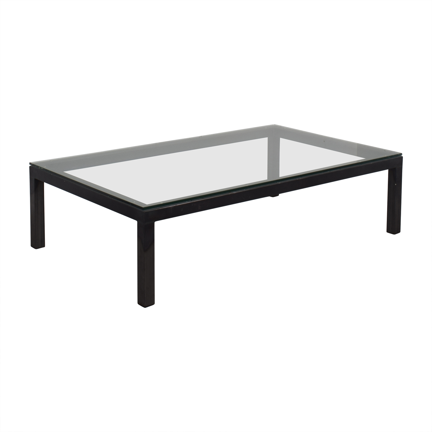 Glass Rectangular Coffee Table / Tables