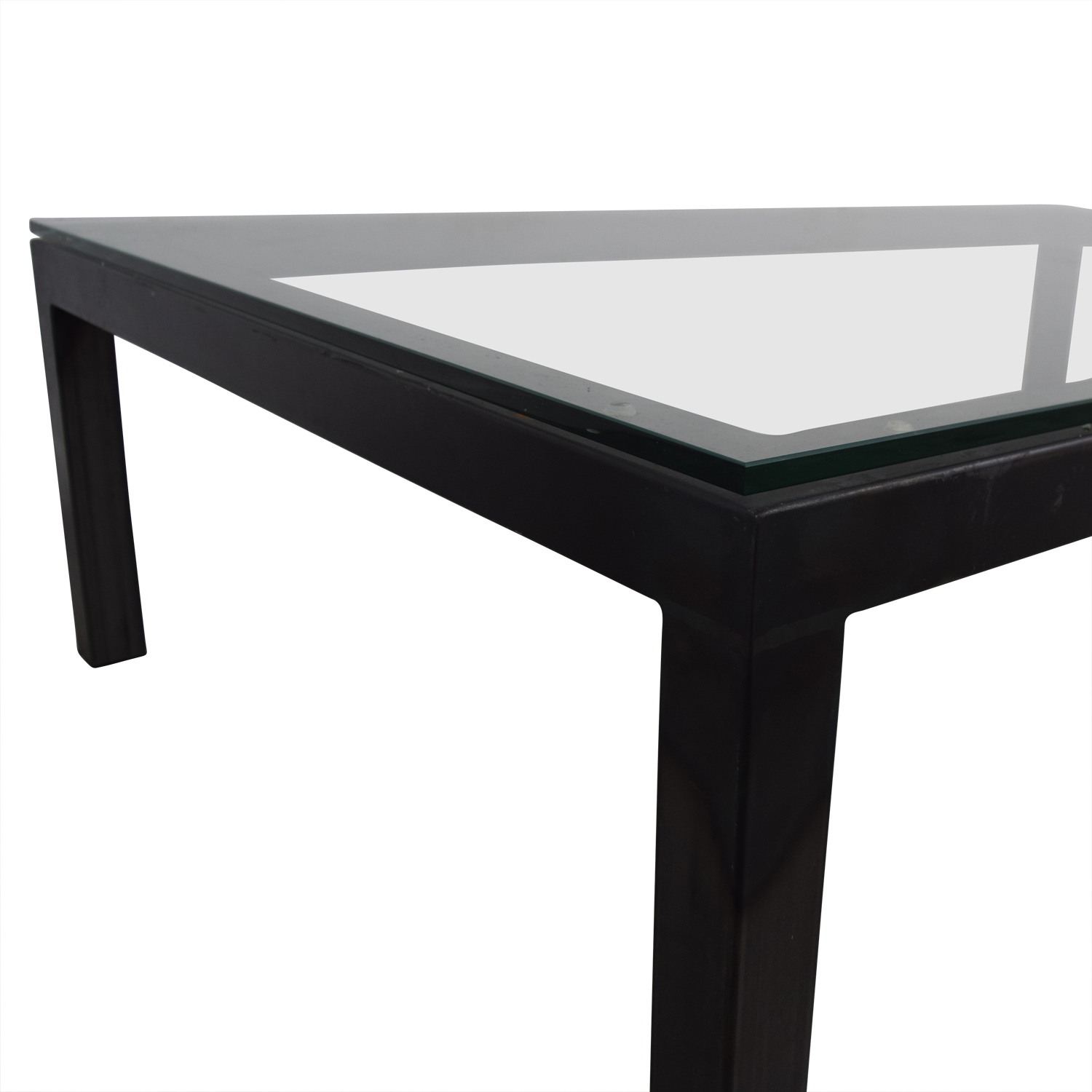 75 Off Glass Rectangular Coffee Table Tables