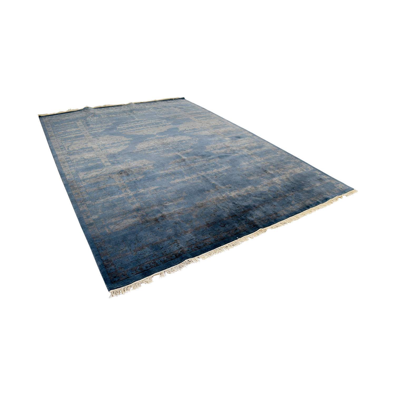 Room & Board Sivas Blue Rug / Decor