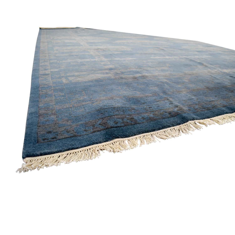 Room & Board Room & Board Sivas Blue Rug